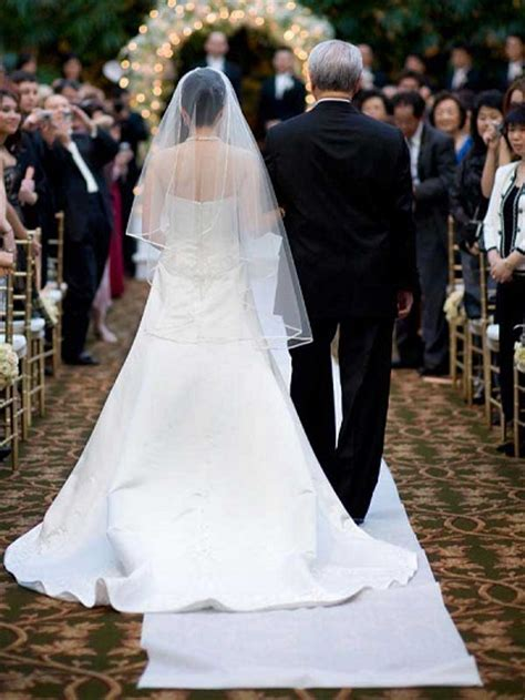 How To Gracefully Walk Down The Aisle