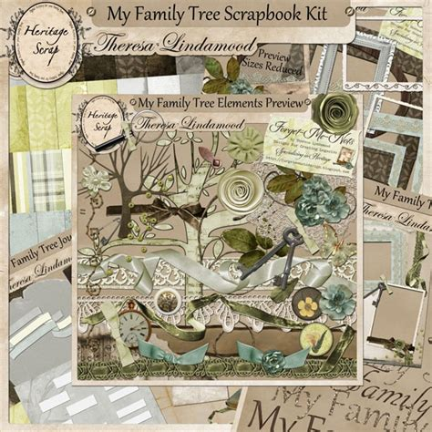scrapbook family tree template 1000 images about genealogy scrapbook resources on