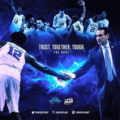 trust together tough duke basketball duke