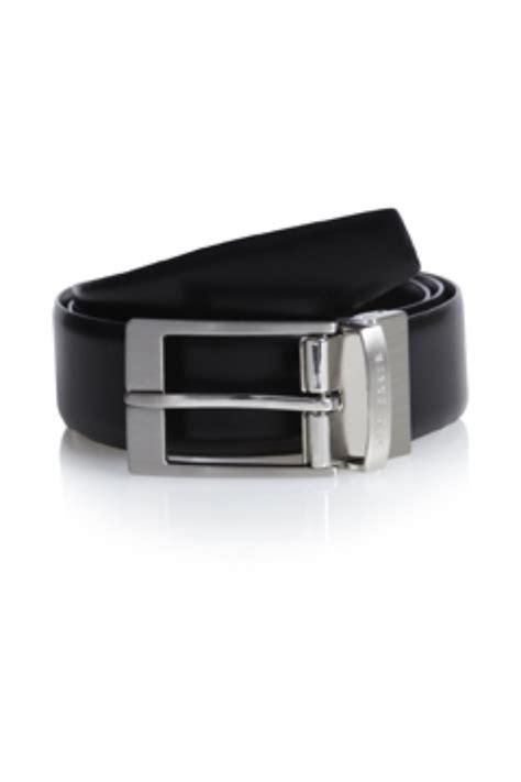 Ted Baker Belt Reversible ted baker black connary reversible prong buckle belt