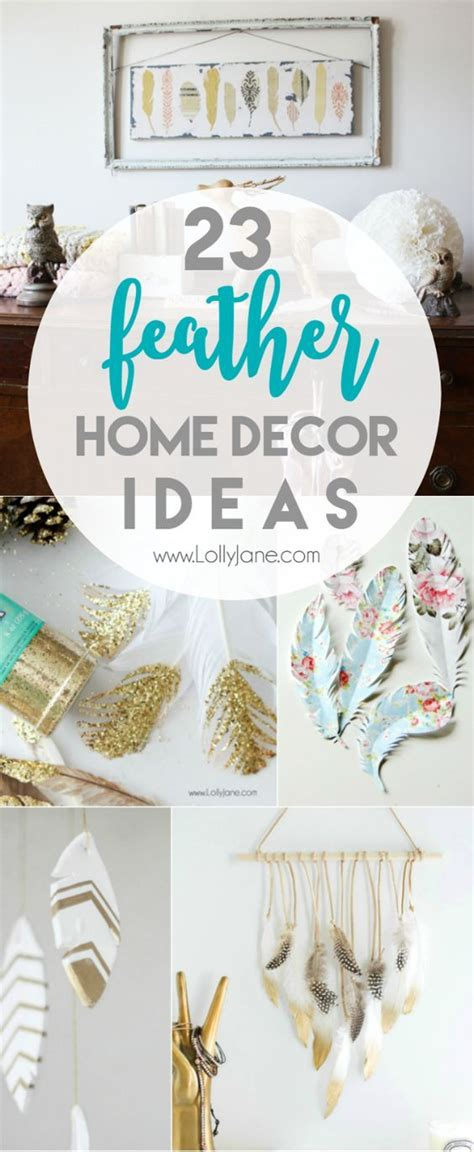 diy feather home decor ideas pinterest feather crafts