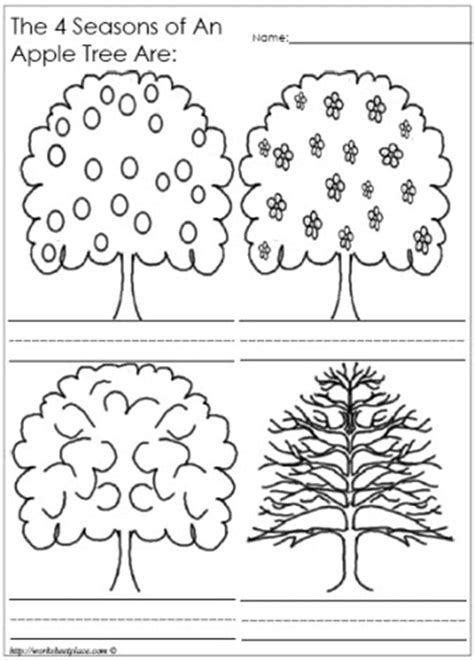 coloring pages trees four seasons free four seasons tree coloring pages