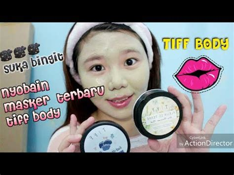 Masker Tiff masker penghilang komedo review tiff adelia mei