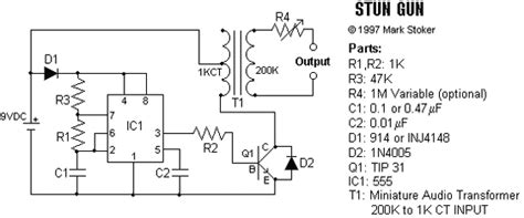 stun gun electronics forum circuits projects and