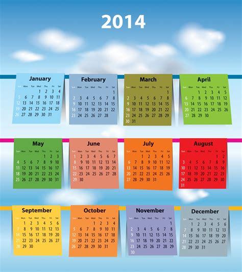 calendar design size free new 2014 calendar designs large size images elsoar