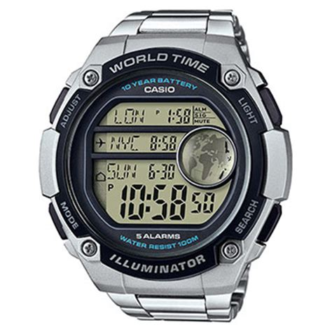 Casio Ae 3000 W ae 3000w 1avef casio collection watches products casio