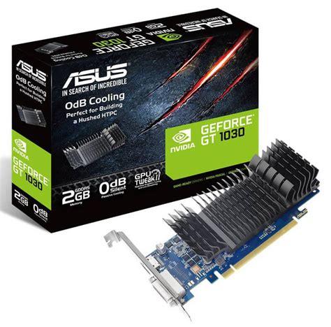 Barang Baru Asus Gt 1030 2gb Ddr5 Oc buy asus geforce gt 1030 2gb graphics cards scorptec computers