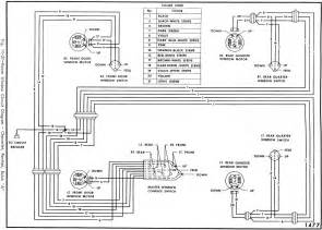 power window circuit diagram of 1966 chevrolet pontiac and buick circuit wiring diagrams