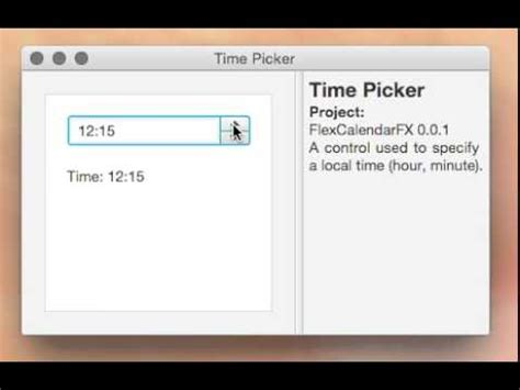 javafx: local time spinner youtube