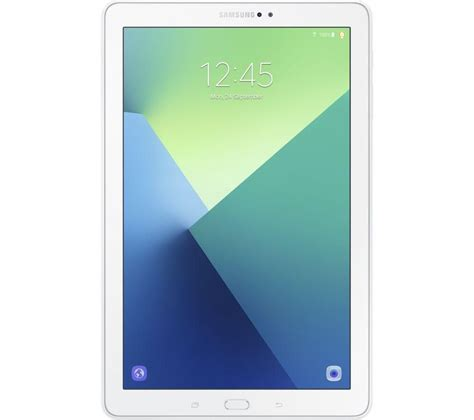 samsung 10 tablet samsung galaxy tab a 10 1 quot tablet 32 gb white fast delivery currysie