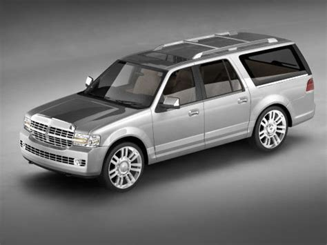 2007 lincoln navigator owners manual with case no reserve for sale carmanuals com 3d model navigator 2007 suv