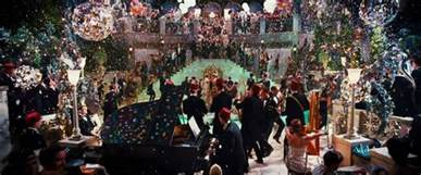 gatsby s beginning imagery of gatsby s party chapter 3