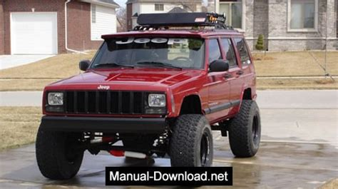 Jeep Cherokee Xj 1997 2001 Service Repair Manual Download