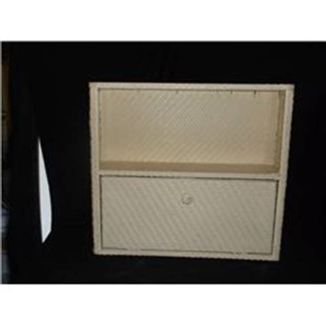 wicker bathroom wall cabinet 19 quot x 6 quot 17 quot