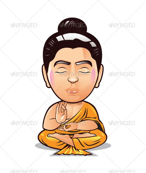 bobblehead buddha buddha bobble by frankbrox graphicriver