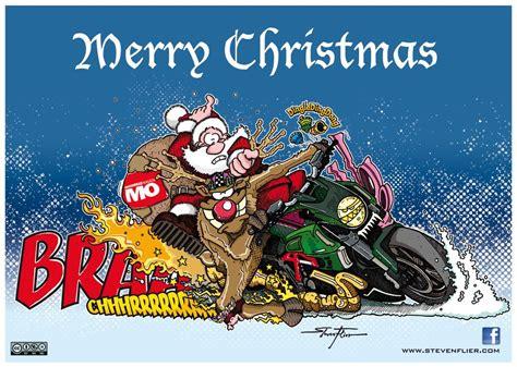 Motorrad Weihnachten Bilder by Weihnachten Illustration Comic Motorrad