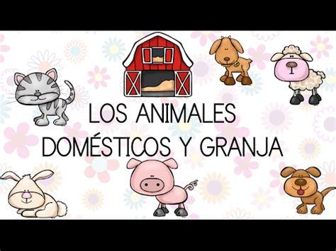 la granja y sus 843054898x los animales dom 201 sticos y de granja con dibujos divertidos video educativo para ni 241 os youtube