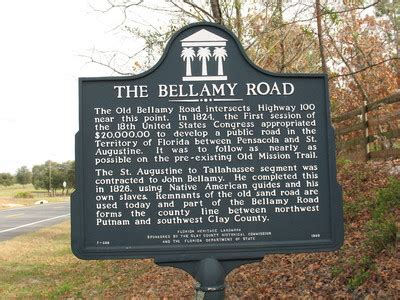 """""""the bellamy road marker, clay county, fl"""" by george"""