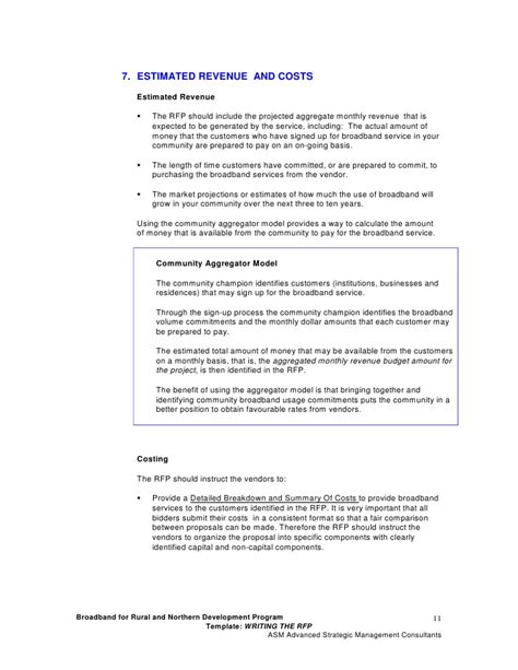 Rfp Template 2 Writing The Request For Proposal Rfp Writing An Rfp Template