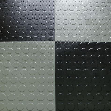 Garage Floor Tile   HiddenLock Coin Floor Tile Black