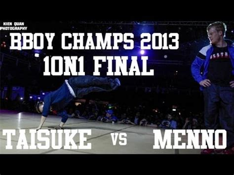 bboy champs 2013 | 1on1 final | menno vs taisuke