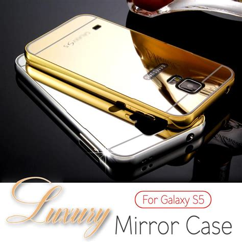 Infinix X510 2 Aluminum Bumper Mirror Back for samsung galaxy s5 s6 i9600 for galaxy s6 edge luxury