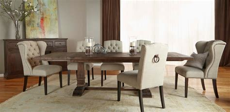 el dorado furniture dining room hudson rustic java 5 piece formal dining set rustic