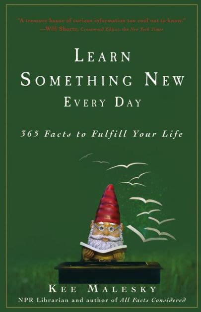 libro 365 facts that will learn something new every day 365 facts to fulfill your life by kee malesky hardcover barnes