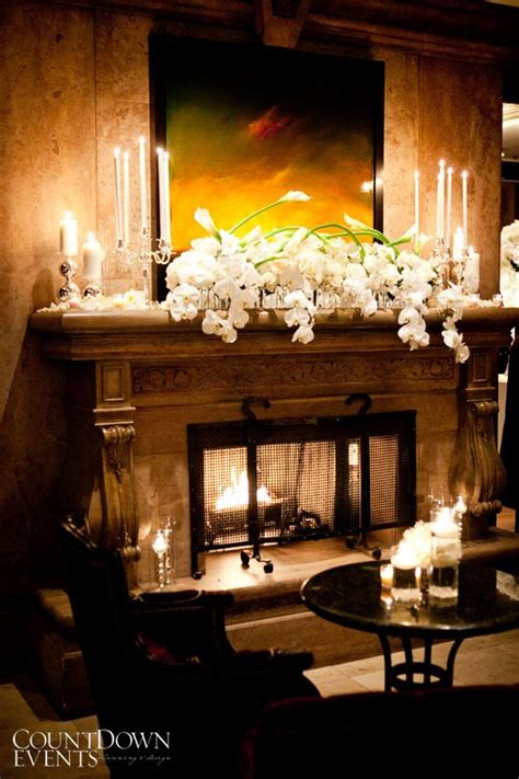 Wedding Fireplace by Best 25 Wedding Fireplace Decorations Ideas On