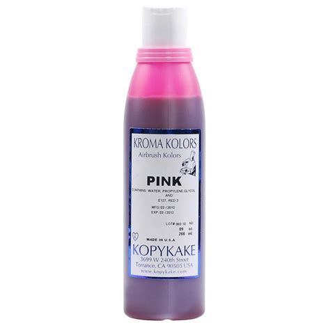 food coloring pink by kroma kolors from usa buy baking
