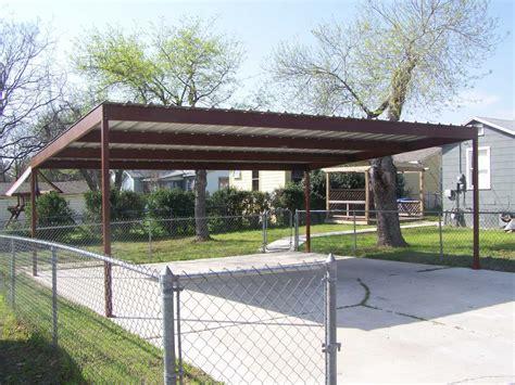 standing metal carport designs concept