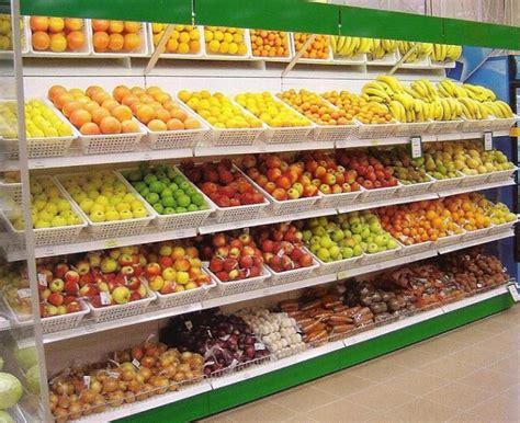 scaffali per frutta e verdura scaffale frutta e verdura mt 4 in offerta arredo ortofrutta
