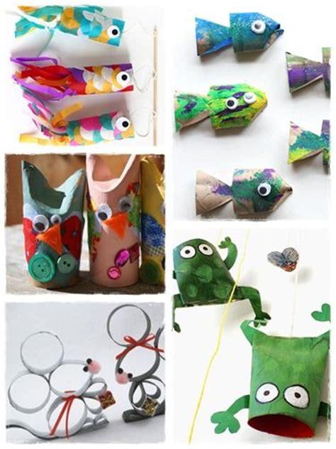 60 bricolages avec des rouleaux de papier toilette animaux et bricolage