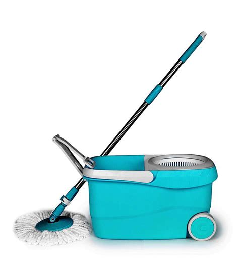 spin mop floor cleaning with wheels buy