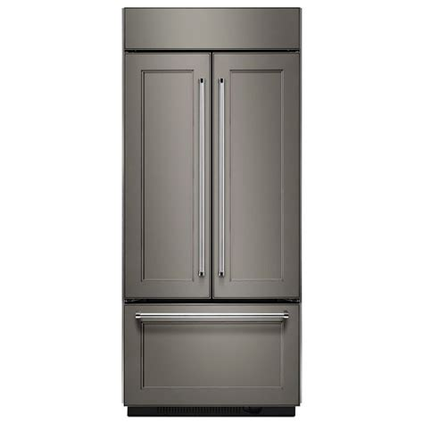 Lowes Kitchen Cabinets Pictures shop kitchenaid 20 8 cu ft counter depth built in french