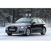 2017 Audi A3 Hatchback Spy Shots