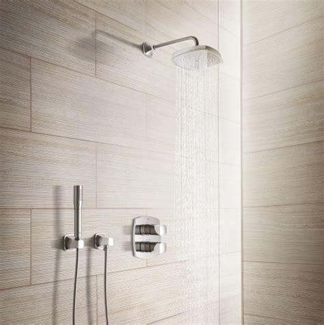 dusche unterputz armatur wie eine unterputzarmatur eine dusche aufwertet