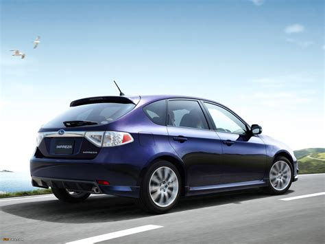 subaru hatchback wallpaper subaru impreza 2 0r sport hatchback gh 2007 wallpapers