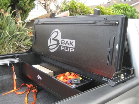 Back Rack And Tonneau Cover by Photo Gallery Bakflip With Back Rack