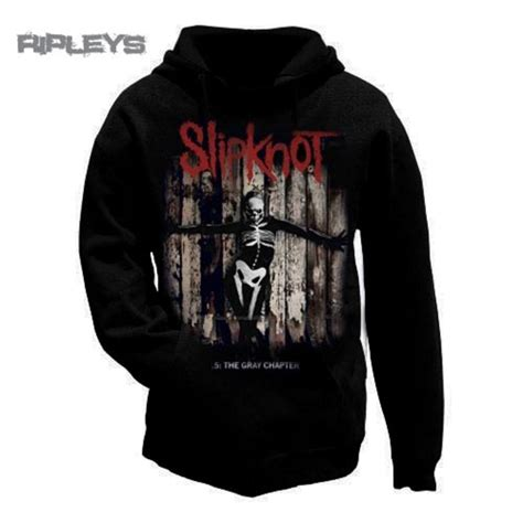 Hoodie Slipknot Roffico Cloth official slipknot hoody hoodie 5 the gray chapter album all sizes
