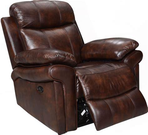 brown leather reclining chair shae joplin brown leather power reclining chair 1555