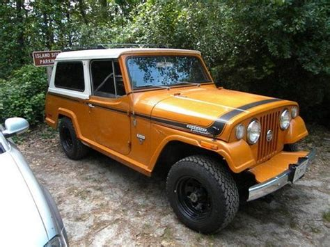 1971 jeep commando sell used 1971 sc1 jeepster commando jeep amc 57k miles in