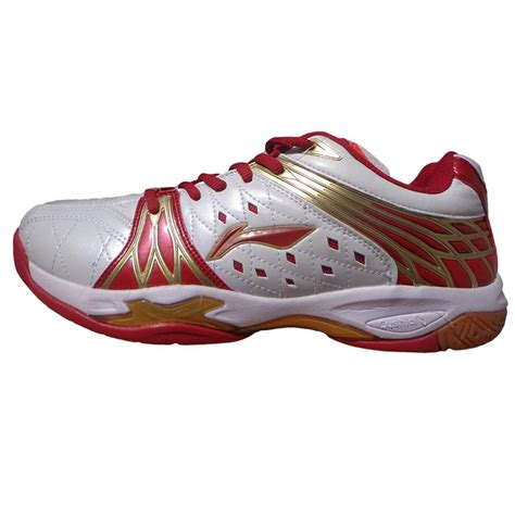 Lining Badminton Shoes I7 Wide li ning titan limited chion and white badminton shoes buy li ning titan limited