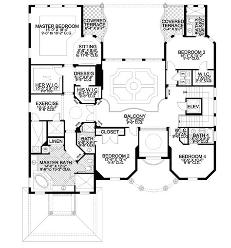 house plans with master suite on second floor the ultimate master suite 32040aa 2nd floor master