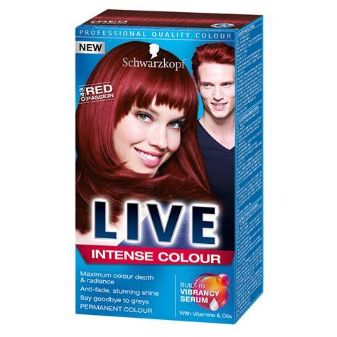 Schwarzkopf Live Hair Color schwarzkopf live hair colour
