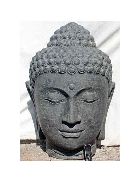 Tete De Bouddha En by T 234 Te De Bouddha Press Teinte Noir 100 Cm
