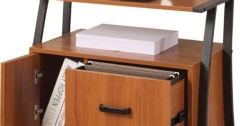 easy2go 2 drawer mobile file cabinet resort cherry ergocraft ashton printer file stand den project