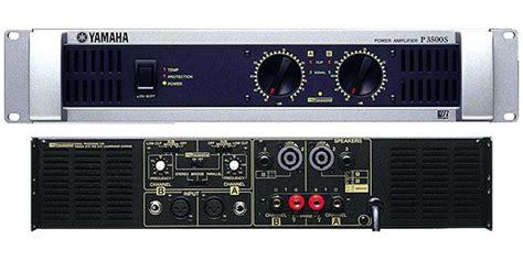 Power Lifier Yamaha P5000s yamaha p3500s image 237340 audiofanzine