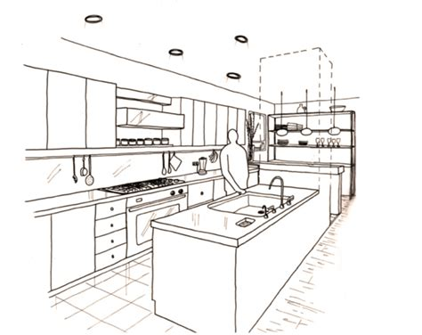 perspective drawings of a modern house sophiequi