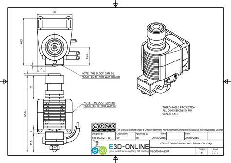 3d doodle drawing kit e3d v6 3d printer hotend all metal genuine uk